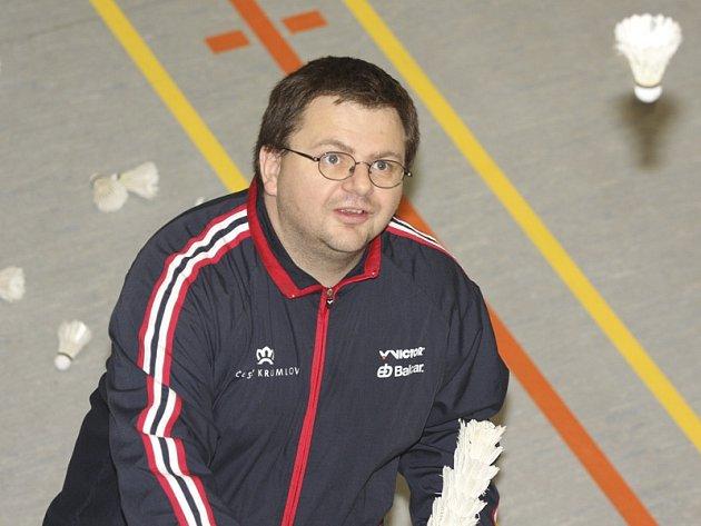 Předseda a šéftrenér SKB Český Krumlov Radek Votava.