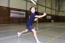 Vydařenou premiéru na celostátním turnaji zažil křemežský Jindřich Kukač, který ve čtvrtfinále dvouhry potrápil pozdějšího vítěze a v párových disciplínách byl dvakrát bronzový.