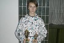 Mezi juniory opět dominoval křemežský Petr Beran (na snímku).