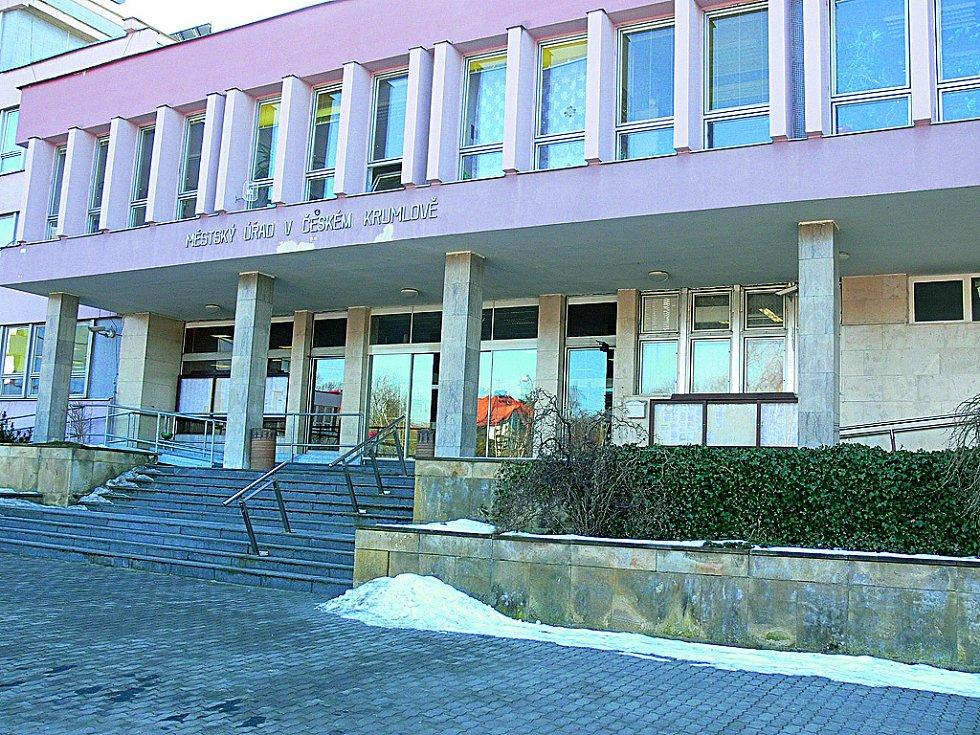 Městský úřad Český Krumlov - budova na Kaplické ulici.