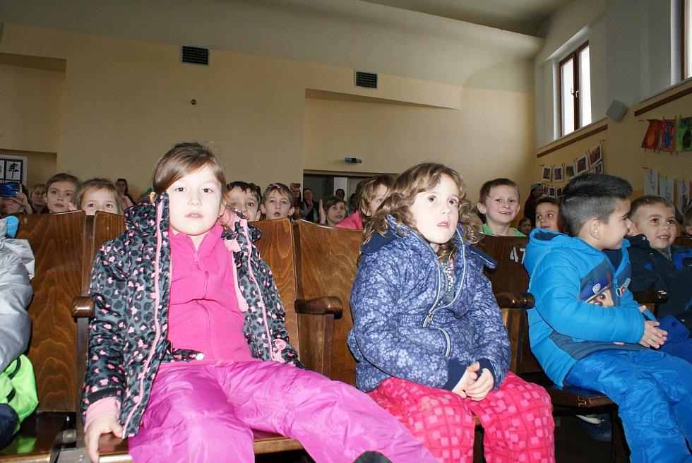 Den naruby v besednické základní škole.