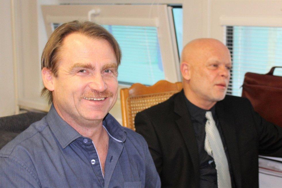 Jiří Klosse (vlevo) a Josef Hermann.