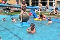 Bazén ve Větřní.