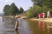 Ve vodě na Lipně už bují sinice