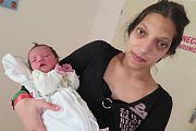 Magdalenka Kiedrowska z Velešína se narodila mamince Nikole Kiedrowske 3. května v 8.30 hodin. Magdalenka vážila 2770 g a měřila 50 cm. Maminka se svěřila, že je to její první miminko. Příbuzní se na holčičku moc těší.