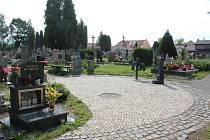Hřbitov v Kaplici.