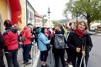 Navzdory tomu, že dopoledne lilo, se pochodu účastnilo zhruba 60 lidí. Počasí je odměnilo - odpoledne pršet přestalo, takže si pochod skvěle užili.
