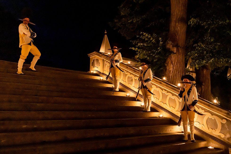 Barokní noc na zámku Český Krumlov 2021.