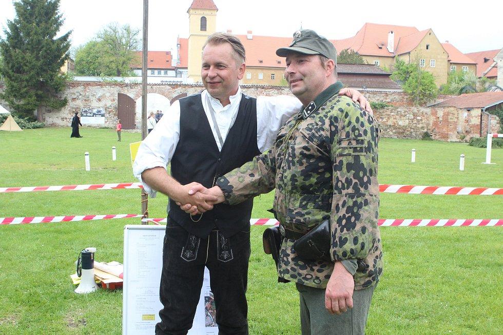 Bojové ukázky v Českém Krumlově