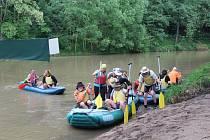 Jaký bude nápor vodáků na Vltavě o proslouženém víkendu, se ukáže.
