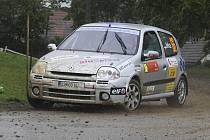 První body do MČR letos získal Milan Jirka při Horácké rally v Třebíči.