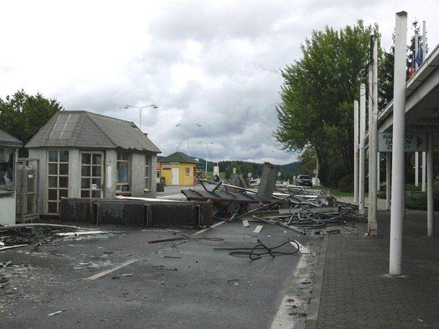 Hraniční přechod v Dolním Dvořišti vzal za své už rok po vstupu do Schengenu.