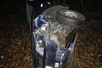 Nehoda se stala ve čtvrtek časně z rána v Křenovicích u Dubného.