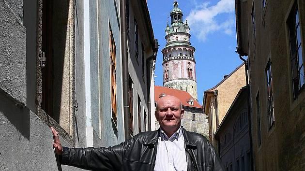 Starosta Českého Krumlova Luboš Jedlička.