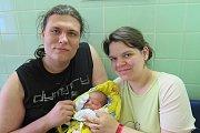 Eliška Matlachová z Českých Budějovic se ocitla na světě 26. dubna ve 22.25 hodin. Vážila 3,25 kg a měřila 49 cm. Tatínek Michal byl na narození dcerky nucen nečinně čekat, protože se narodila císařským řezem. Ale brzy mu ji přinesli.