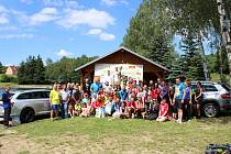 ÚČASTNÍCI Běhu na Kohout prožili v Besednici krásné odpoledne. Přišlo 68 dospělých a 50 dětí.