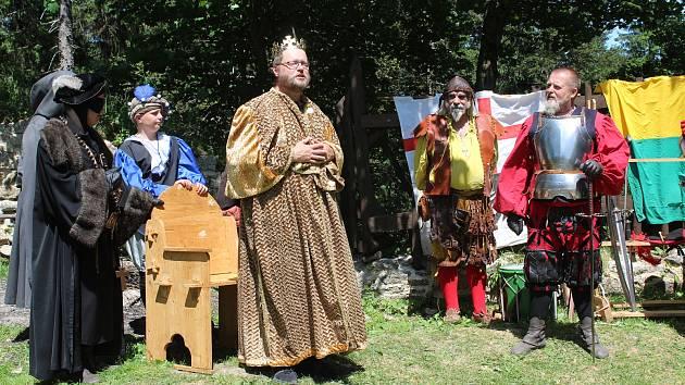 Vítkův hrádek slavil spolu s návštěvníky 14. výročí otevření.