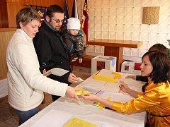 Volby v Kájově.