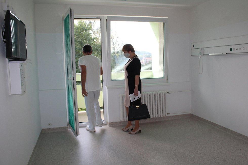 Nemocnice v Českém Krumlově - zrekonstruovaná léčebna dlouhodobě nemocných.