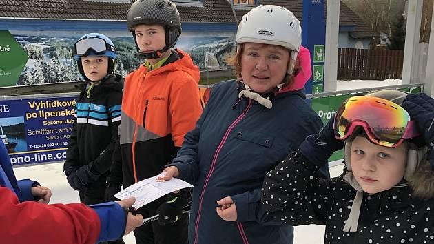 První lipenskou lyžařkou zimní sezóny 2019/20 se stala Helena Tříletá.
