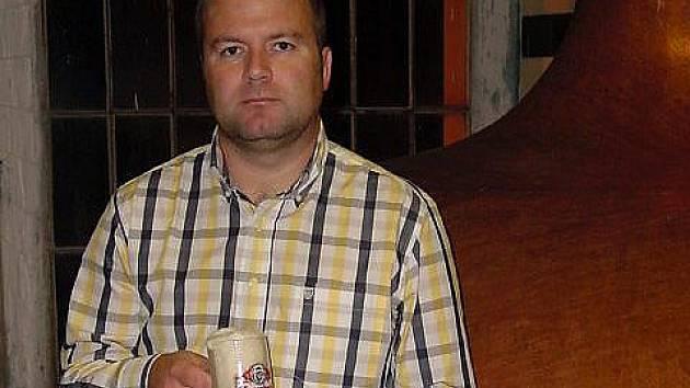 Manažer českokrumlovského pivovaru Jiří Shrbený.