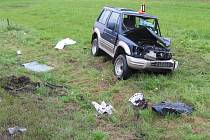 Nehoda u Kaplice Nádraží.
