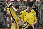 Sálovkáři DG303 zvládli i odvetu finále s FC Mexico a mohli slavit titul.