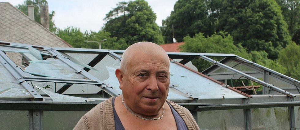 Skleník Karla Trojáka.