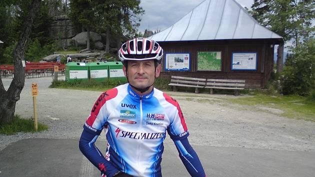 Jan Cipín na Třístoličníku.