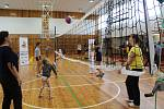 Sobotní dopoledne patřilo akci Kaplice plná v pohybu ve sportovní hale.