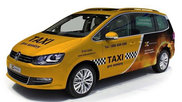 Městem začne jezdit Senior taxi.