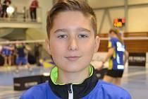 Kompletní medailovou sbírku si přivezl Patrik Fuciman z republikového turnaje mladšího žactva v Praze.