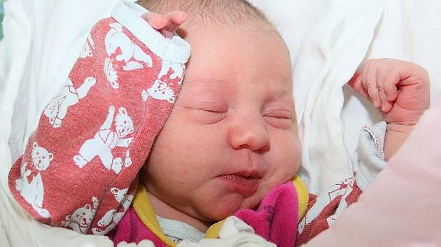 Michaela Kadlecová, 15. března 2010, 49 cm, 3150 g, Brloh.