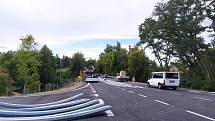 Nejpozději v pondělí 20. 9. by mělo dojít k úplnému zprovoznění úseku silnice I/3 ve Velešíně.