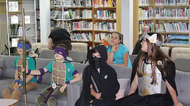 Krumlovský fantasy festival BOok! con ozdobila spousta kostýmů.