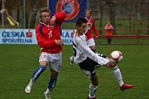 Po roce a půl se opět v Kaplici uskuteční měření sil reprezentačních výběrů šestnáctiletých fotbalistů Česka a Rakouska.