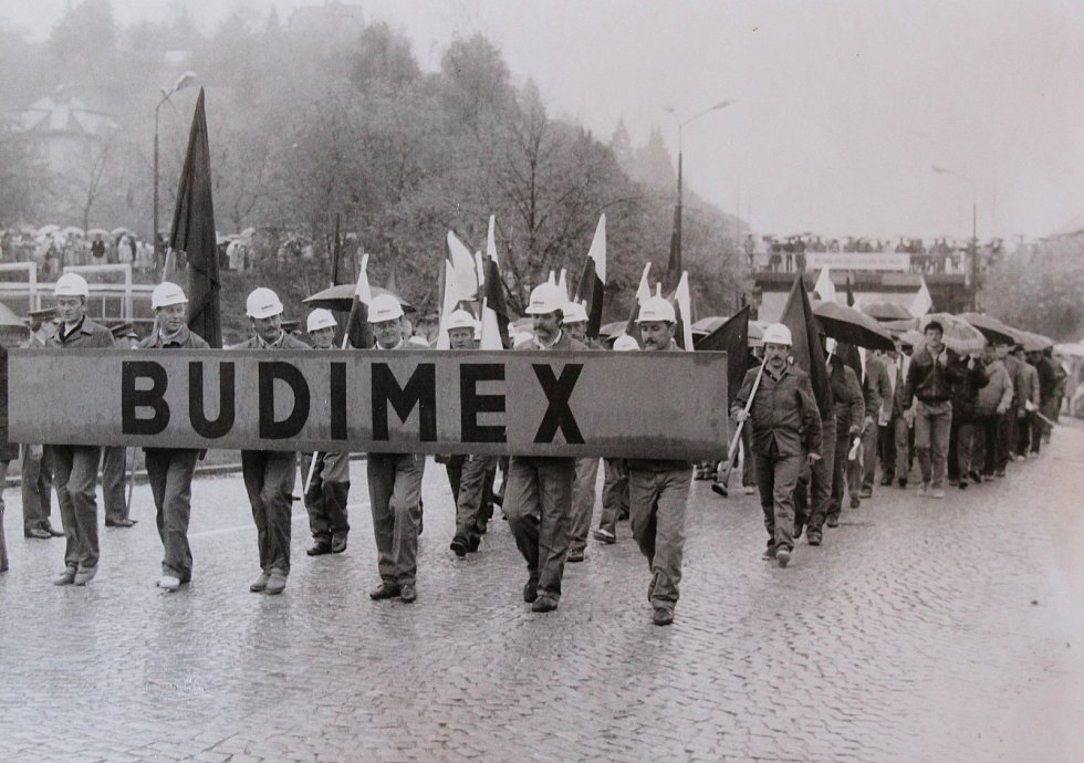 1. máj 1989 v Českém Krumlově.