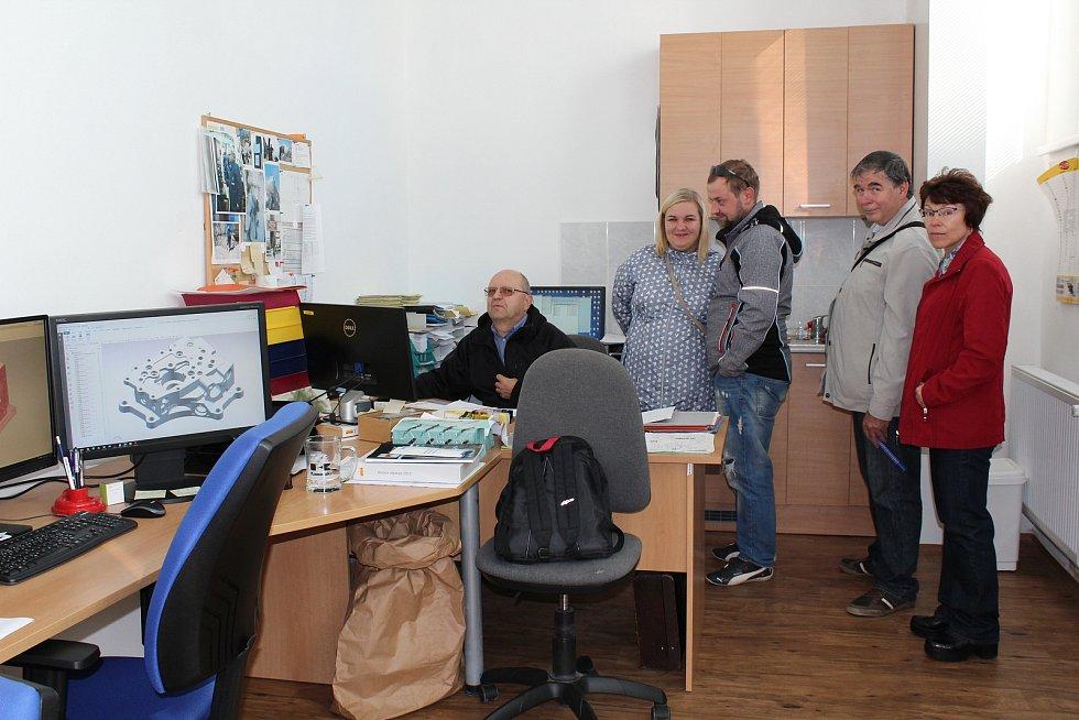 Jihostroj Velešín během dne otevřených dveří v roce 2017.