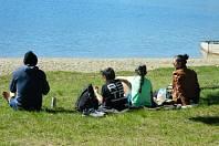 Velikonoční pohoda u lipenského jezera.