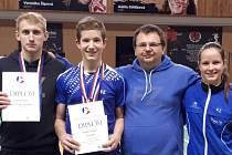 Krumlováci na Mistrovství ČR kategorie U19 v Mostu