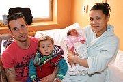 Marie Žigová se narodila ve středu 25. února 2015 v9 hodin a 46 minut, měřila 46 centimetrů a vážila 2500 gramů. Společně smaminkou Dominikou Žigovou, tatínkem Erikem Kotlárem a dvouletým bráškou Eričkem bude vyrůstat ve Větřní.