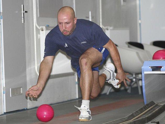 Český reprezentant Miroslav Pešadík z Loučovic vytvořil nový rekord soběnovské kuželny.