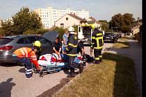 Jednotka SDH obce Velešín zasahovala u nehody.