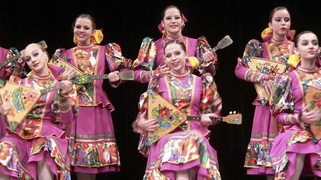 Mezinárodní festival umění nazvaný Česko-ruský dialog českokrumlovském divadle.