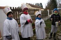 Připomeňte si Tříkrálovou koledu z loňska v Horním Třeboníně, Výhni, Zubčicích a Dolním Třeboníně.
