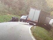 Smrtelná nehoda u Branné.