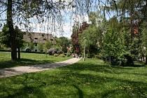 Zelené srdce Krumlova, městský park.