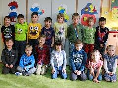 Žáci I.A  Základní školy Fantova Kaplice.