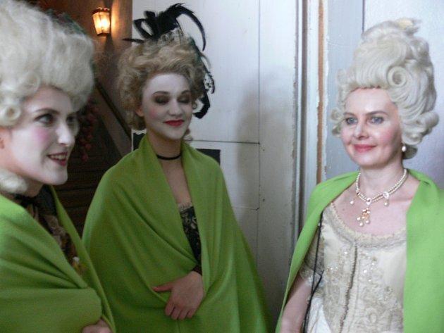 V Krumlově točí film o Mozartovi