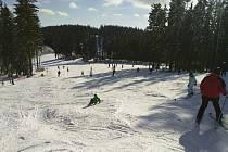 V lipenském ski areálu panují ideální podmínky.